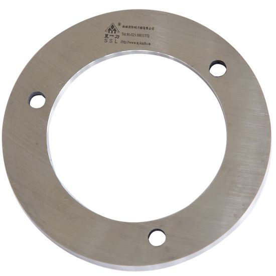 Professional Cutting Carton Parts Stainless Steel Disc Blades