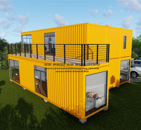 Movable Prefab/Prefabricated Shipping Container House. pictures & photos