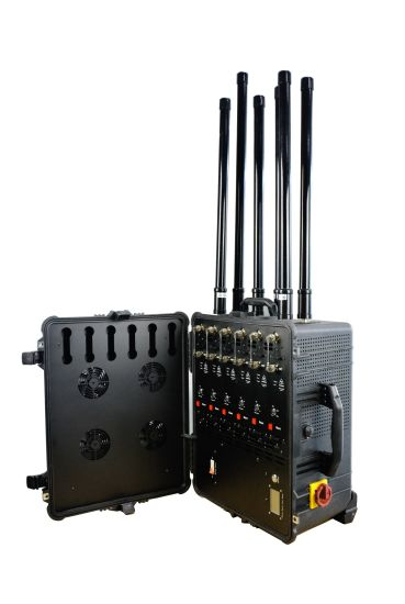 Draw Bar Box Design High Power 2g 3G 4G All Cell Phone Signal Jammer for Law Enforcement pictures & photos