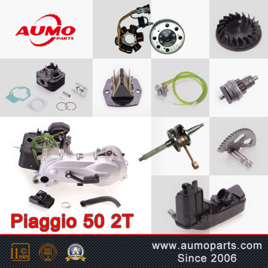 China 50cc 2-Stroke Scooter Engine for Piaggio 50 2t - China