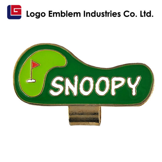 China Hot Selling Personalized Golf Divot Tool Beautiful Magnetic Golf Ball Marker Hat Clip China Hat Clip Clip Cap