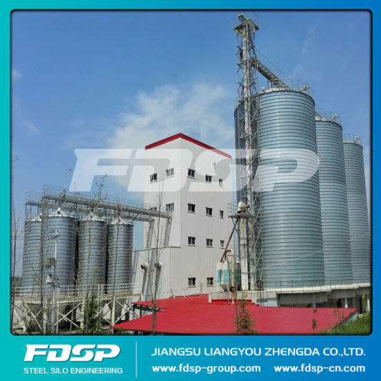 Long Work Life 5000 Tons Grain Storage Silos Small Grain Silo for Sale pictures & photos