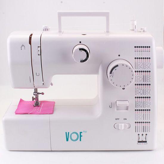 Fhsm-705 Mini Hand Automatic Interlock Sewing Machine with 59 Stitches
