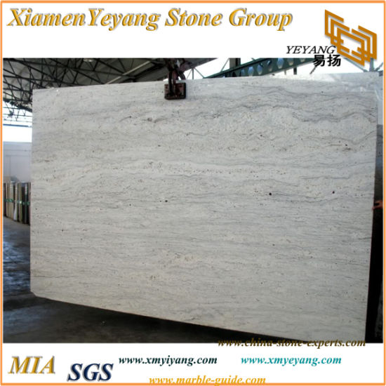 China River White Granite Slabs for Kitchen/Bathroom
