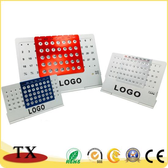 Customized Size Logo Metal Multi-Function Calendar