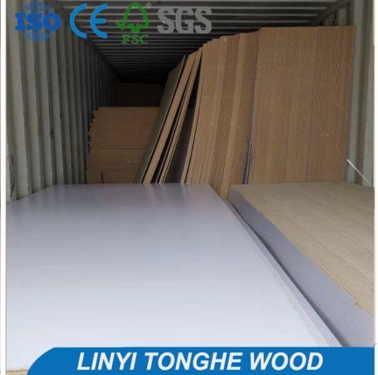 High Gloss 4X8FT Melamine HDF 18mm MDF 1220mm*2440mm HDF Plywood