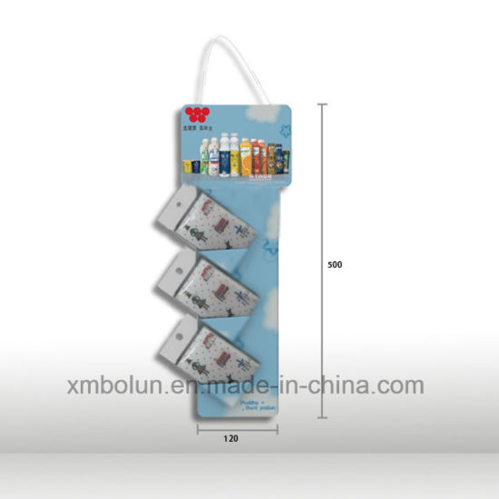 China Corrugated Cardboard Counter Display Stand With Two Tires Unique Plastic Counter Display Stands