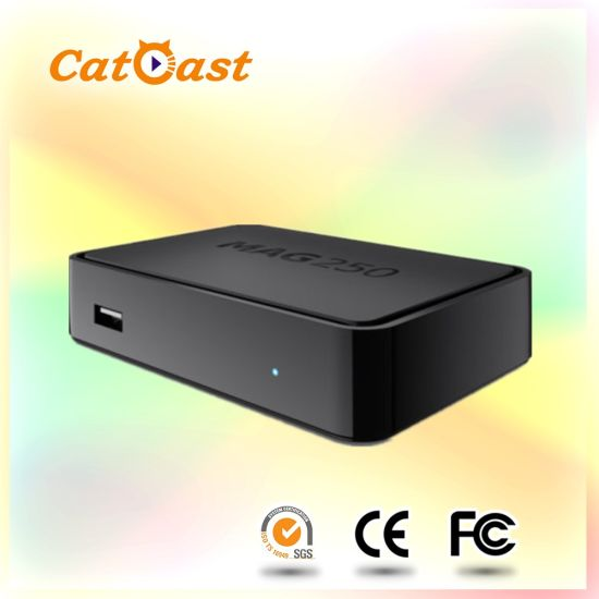 China Mag250 Linux Arabic IP TV Box with 1400 Live Channels