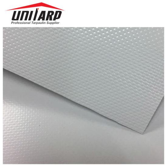 1000*2000d 20*10 1000GSM Grey PVC Tarpaulin