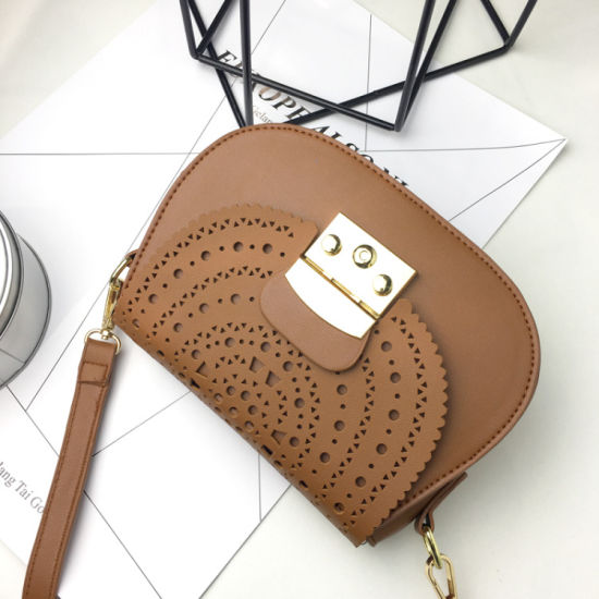 de47c53c336 Fancy Ladies Saddle Handbag Women Shoulder Bag Women Bag Hollow Crossbody  Bag (WDL0998)