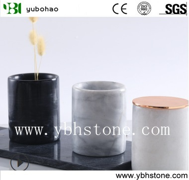 Honed Marble Bowl for Kitchen or Bathroom