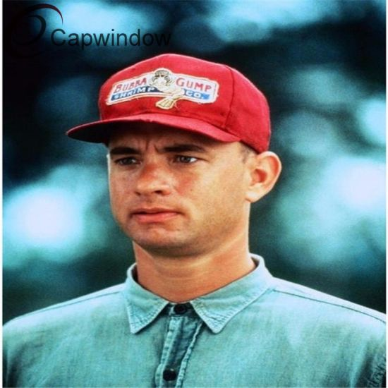 Classic Movie Forrest Gump Snapback Cap/Hat with 3D or Flat Embroidery