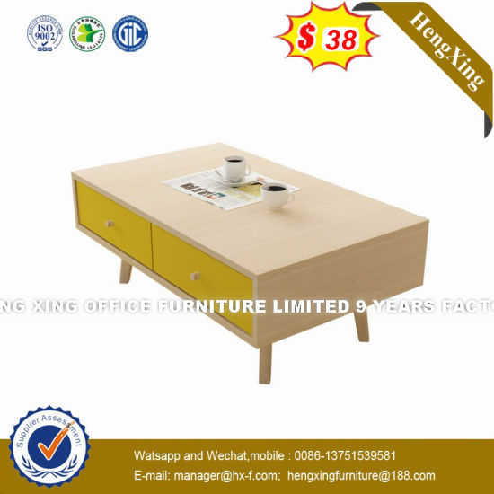 Japanese Style MDF Storage Notch   Coffee Table (HX-8NR2342) pictures & photos