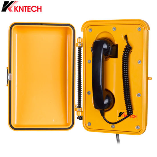 Weatherproof Railway Tunnel Mining Telephone Sos Emergency VoIP Analogue Telephone