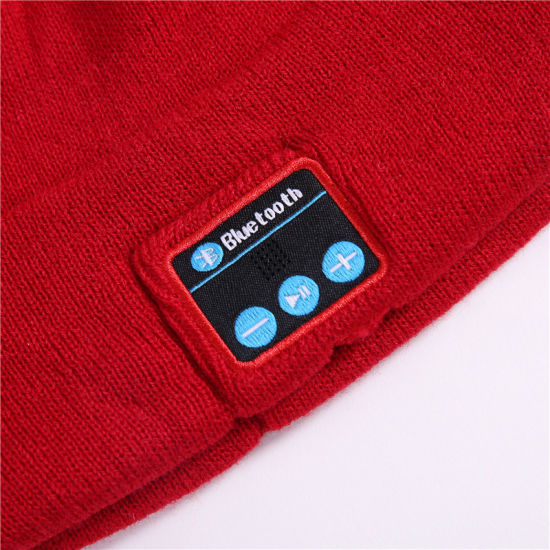 c88ac286d2c Fashion Custom Wireless Crochet Music Hat Winter Warm Beanies Cool Knitted  Cap M1