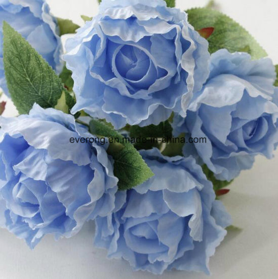 China 7 flowers artificial flowers wholesale flowers artificial rose 7 flowers artificial flowers wholesale flowers artificial rose supplier artificial wedding rose bundles silk rose flower mightylinksfo