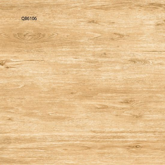 China 600600 Wood Grain Ceramic Floor Tiles For Bedroom China