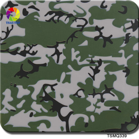 Tsautop 0 5m Width Military Camo Water Transfer Printing Film for Hydro  Dipping with Spray Paint