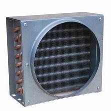 Copper Tube Aluminum Fin Air Cooler Condenser Evaporator Coil