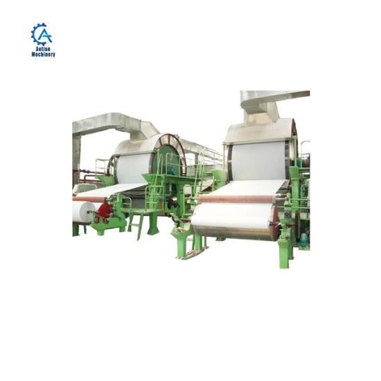Waste Paper Board Pulp Toilet Tissue Paper Making Machinery