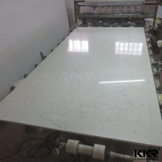 China White Quartz Wall Cladding Stone Starlight