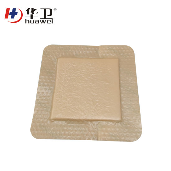 New Arrival Free Sample Silicone Foam Wound Dressing