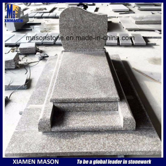 G664 Cheap France Style Tombstone