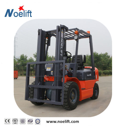 China Mini Portable Hydraulic Lifting Diesel Forklift 3ton - China