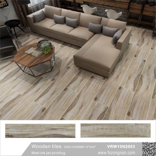 China Building Material 3d Inkjet Wood Tile Ceramic Floor Tile