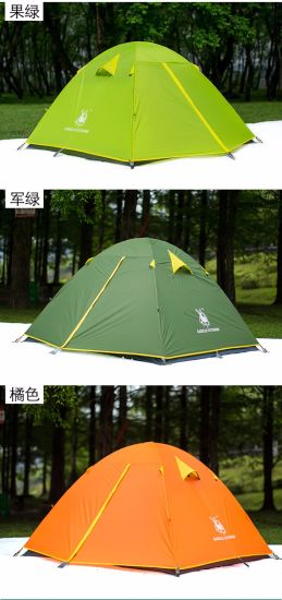 Three Poles 4 Person Camping Tent/Outdoor Tent pictures & photos