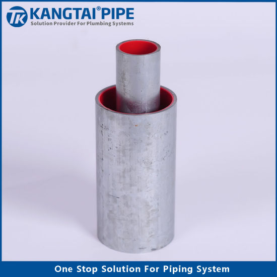 Factory Price Water Pipe Fittingdn32 Threadedsteel PE Pipe Composited Tubing