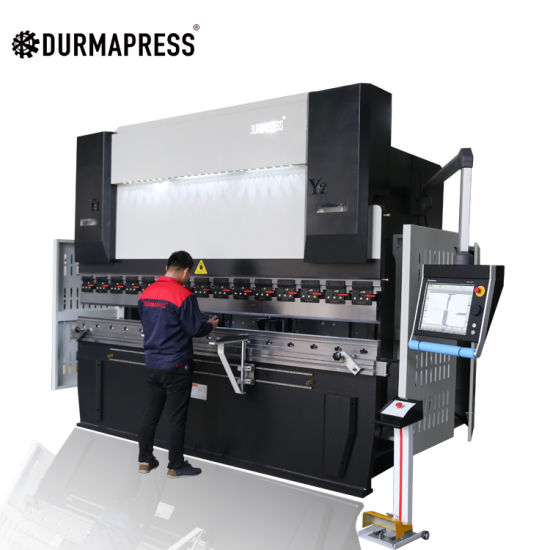MB8 200t 3200 CNC Hydraulic Press Brake for Bending Machine Sheet Metal Steel Plate 8mm