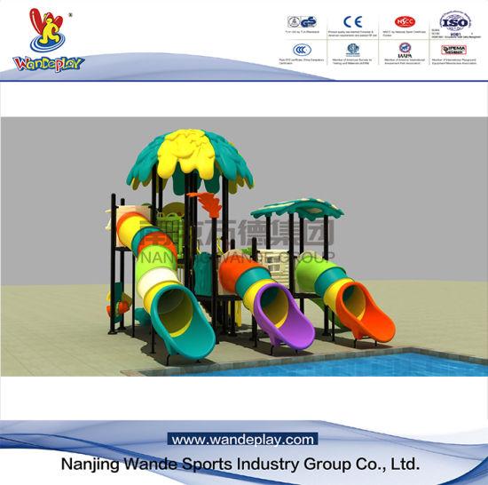 Plastic Toy Kids Slide Amusement Park Children Outdoor Playground Equipment