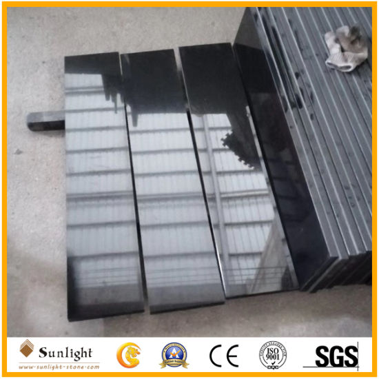Shanxi /Absolute Black Granite for Countertops/Vanity Top/Tombstone/Tiles/Stair