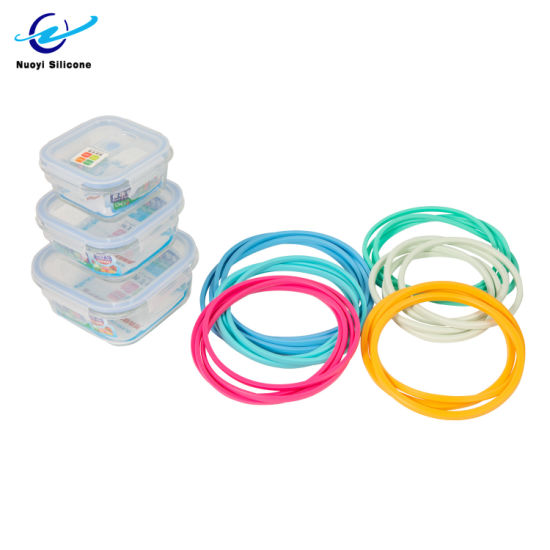 Reusable FDA Silicone Seal Ring for Food Grade Silicone Container