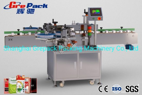 Automatic Corner Wrap Label with Printing Supply System