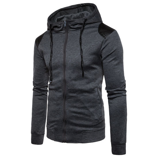 Factory Wholesale Men High Quality Fashion Casual Sweatshirt Hoodies pictures & photos