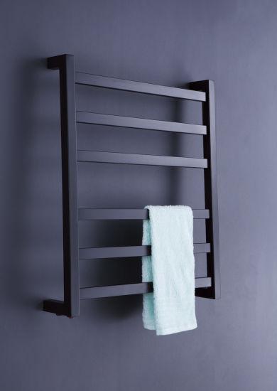 Matt Black Towel Warmer Bathroom