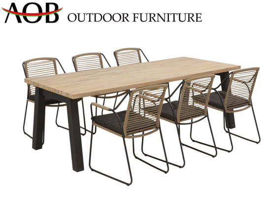 Fantastic Chinese Modern Outdoor Garden Home Furniture 6 Seater Gmtry Best Dining Table And Chair Ideas Images Gmtryco