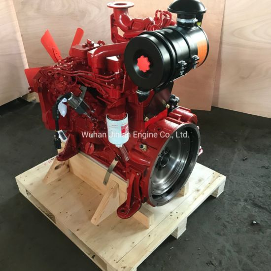4bt3.9-C80 60kw Fire Pump Water Pump Engine Cummins with Radiatior