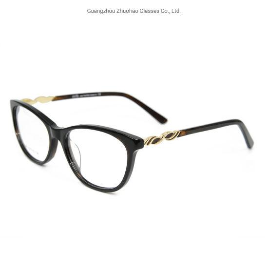 Best Colorful China Wholesale Women Fashion Custom Belt Drill Acetate Diamond Eye Glasses Frame
