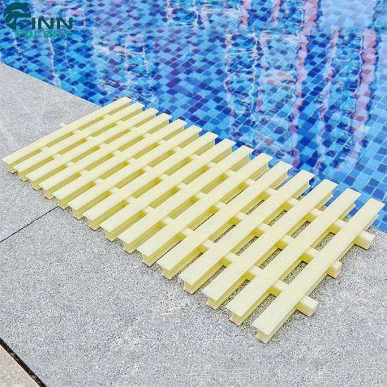 Anti-Slip Swimming Pool ABS Material Overflow Drain Grating