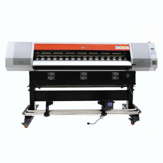 Tecjet Inkjet Digital LED 3D Emboss Roll to Roll Printer Logo Clear Film Printing Machine Price