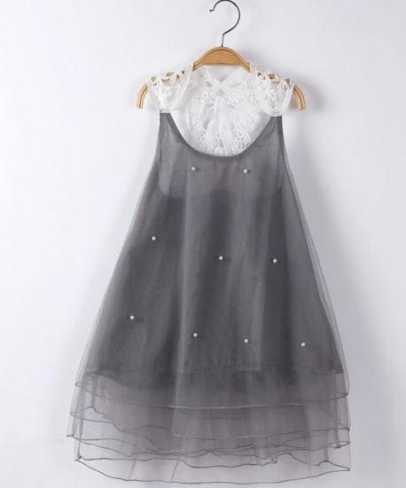 Grey Online Dress Shopping Kids Clothing Dress