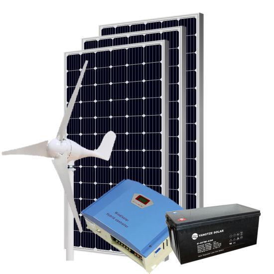 Yangtze 7kw 8kw 9kw 10kw off Grid Hybrid Solar Wind Power AC System Price Pakistan for Home