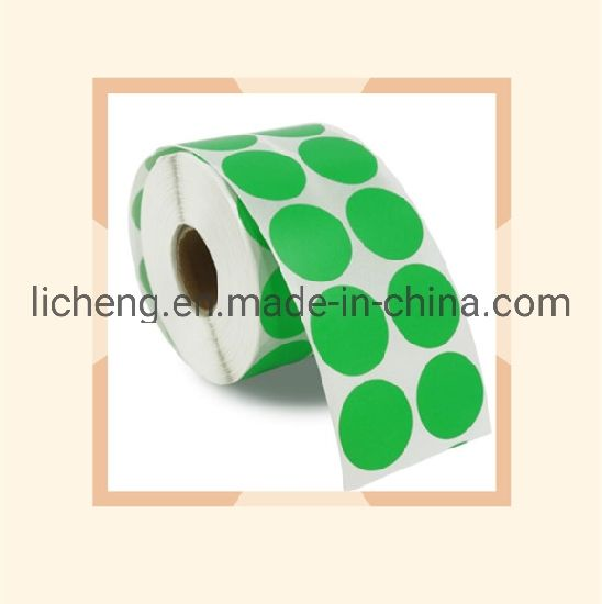 High Quality Hot Bar Code 1cm/1 5cm/2cm/2 5cm Label Barcode Paper Label  Thermal Paper Roll of Colored Labels No Ribbon Printing