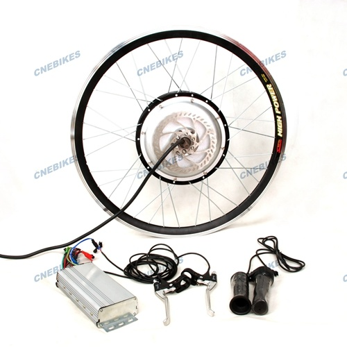 Powerful Rear Wheel 3000W Hub Motor Electric Bike Kit pictures & photos