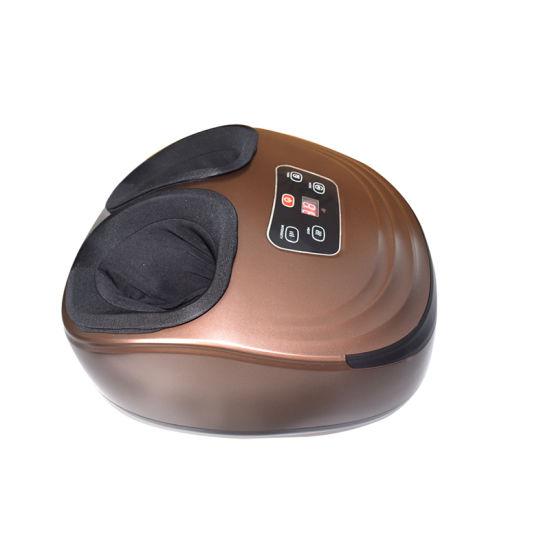 OEM/ODM Japanese Foot and Calf Job Massager, 5 Massage Modes Heating SPA Shiatsu Air Compression Leg Foot Massage Machine Price