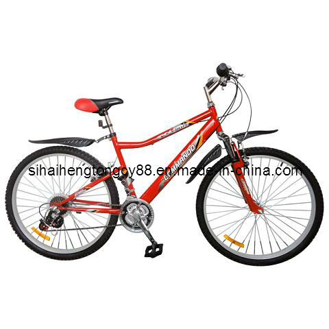 Steel Mountain Bicycle with Suspension Fork MTB-049 pictures & photos