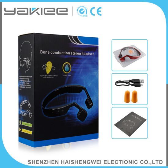 High Sensitive Vector Bone Conduction Wireless Bluetooth Gaming Headphone pictures & photos